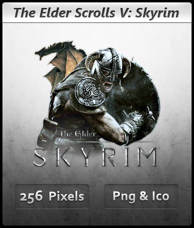 Elder Scrolls V Skyrim - Icon by Crussong