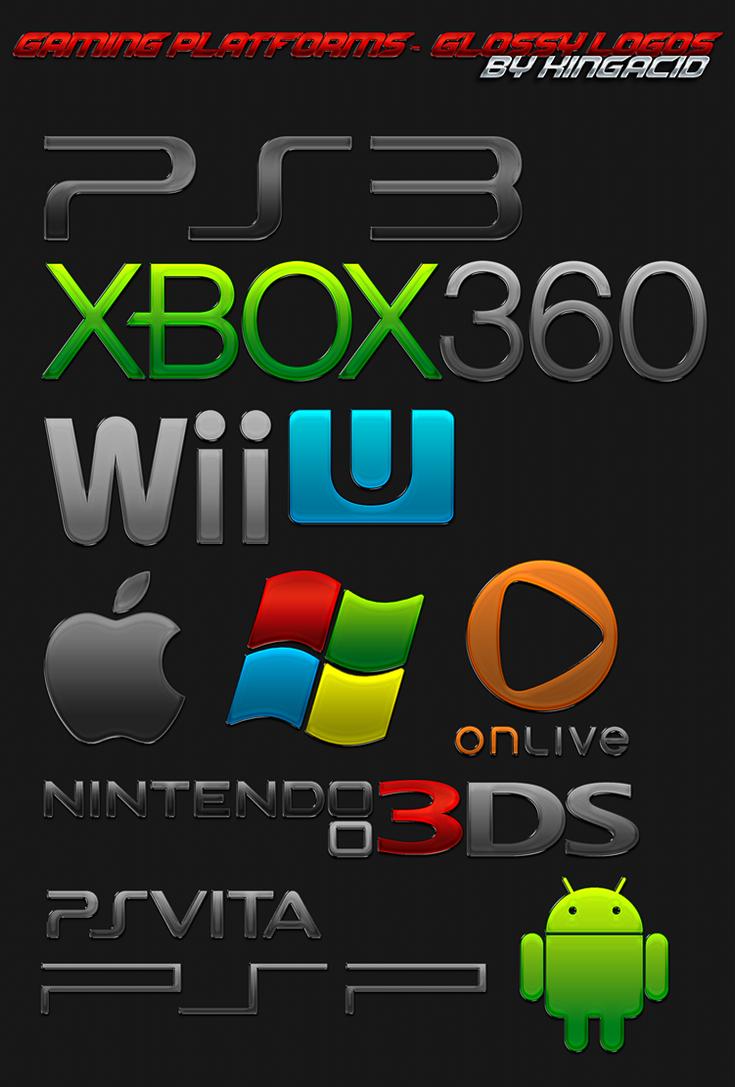 Gaming Platform Logos Glossy By Crussong On Deviantart