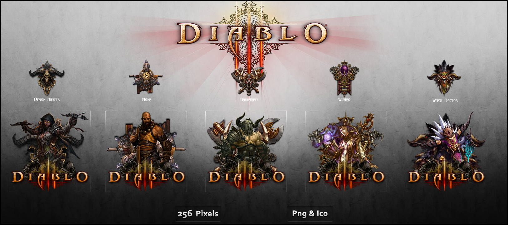 diablo iii icon pack by crussong on deviantart