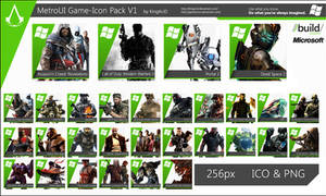 MetroUI Game-Icon Pack V1