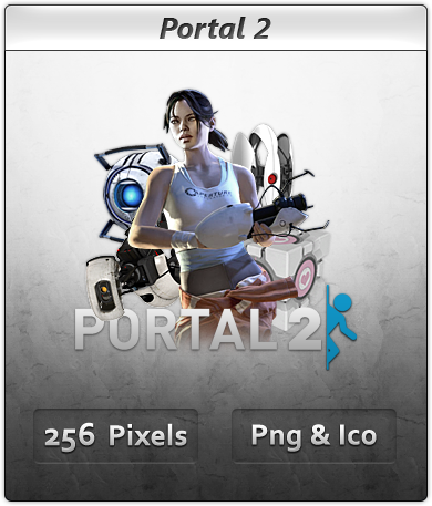 Portal 2 - Icon 4 by Crussong