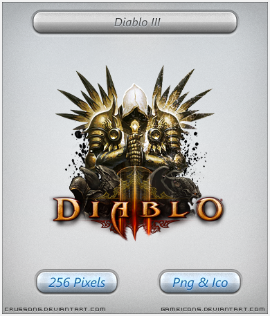 Diablo III - Final Game Icon by Crussong