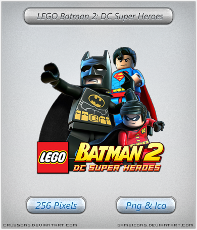 LEGO Batman 2 - Icon by Crussong