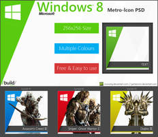 Metro-Icons for Windows 8 - Free PSD by Crussong