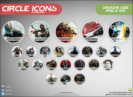 Circle Icons - Pack by Crussong