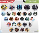 Circle Icons - Pack V2