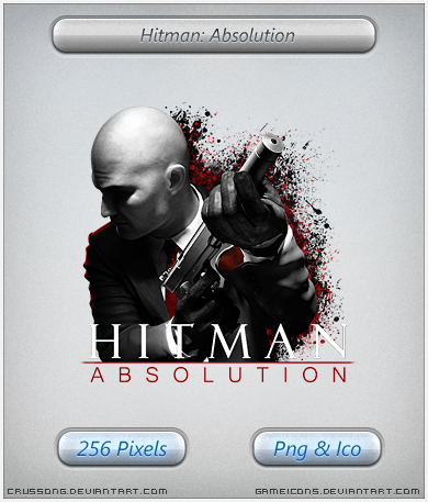 Hitman Absolution - Icon 3 by Crussong