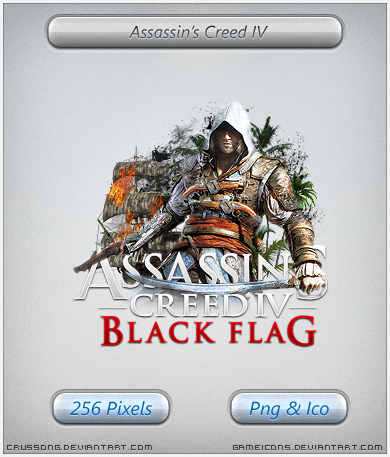 Assassins Creed IV Black Flag - Icon by Crussong