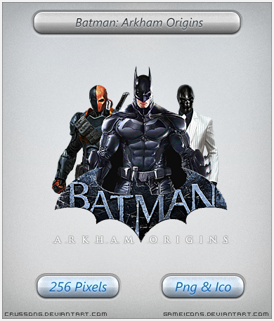 Batman: Arkham Origins - Icon by Crussong