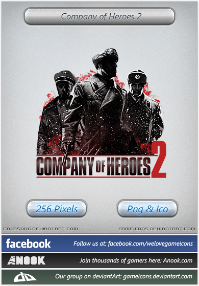 Company Of Heroes 2 Icon By Crussong On Deviantart