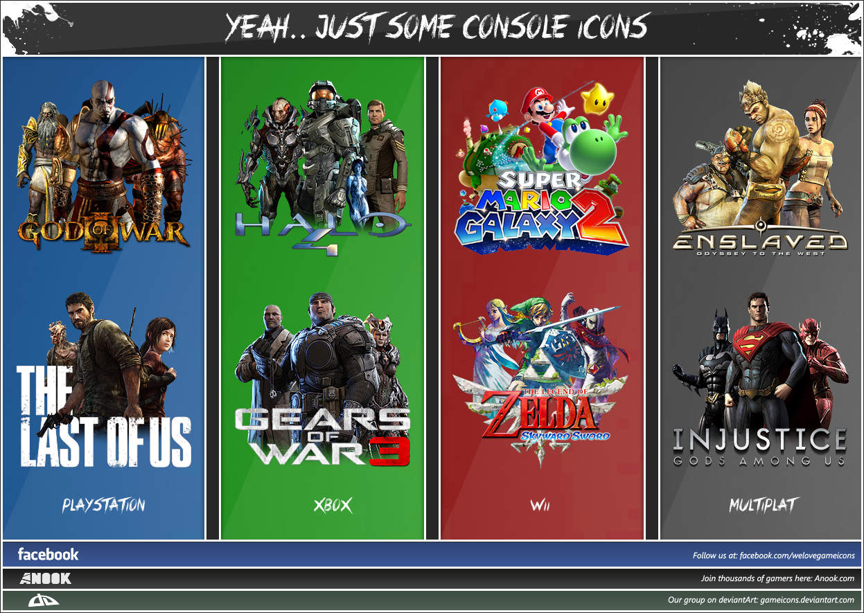 Just some console Game-Icons.. by Crussong