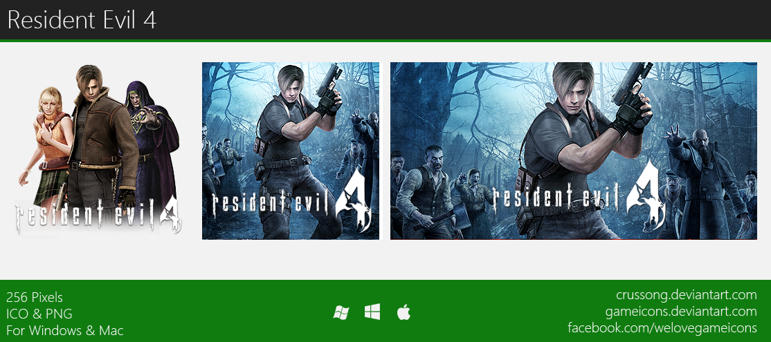 Resident Evil 4 - Icon by Crussong on DeviantArt