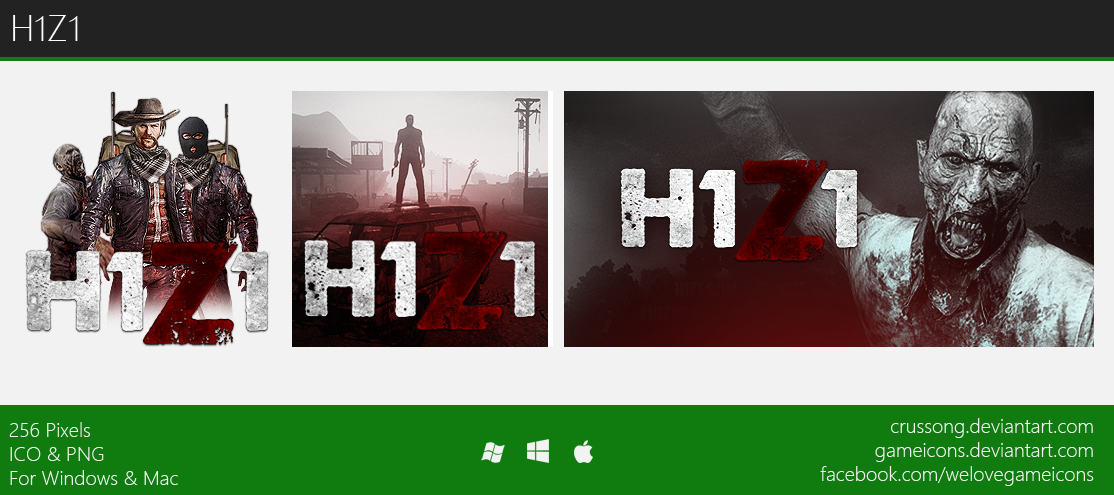 H1Z1 - Icon by Crussong on DeviantArt