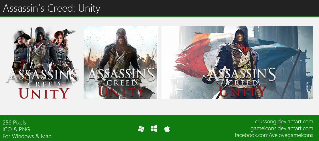 Assassin's Creed: Unity - Icon 2 by Crussong on DeviantArt
