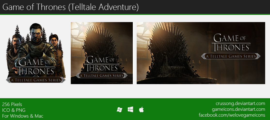 Game of Thrones (Telltale Game) - Icon by Crussong