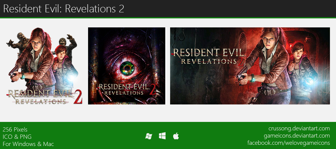 Resident Evil: Revelations 2 - Icon by Crussong
