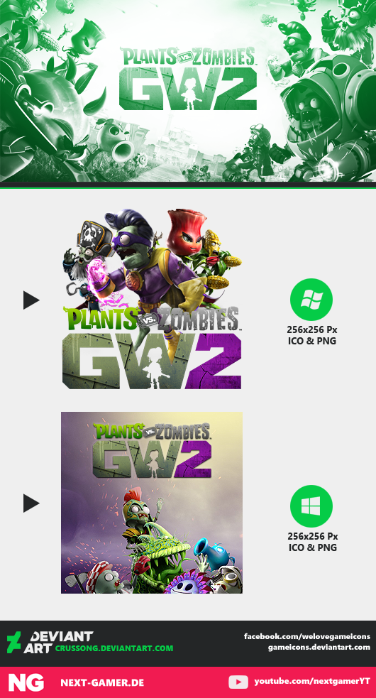 Plants Vs Zombies: Garden Warfare 2   Icon By Crussong ...