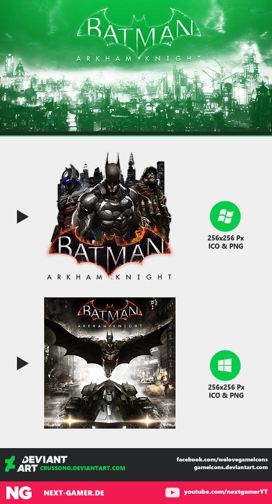 Batman Arkham Knight Icon 2 By Crussong On Deviantart