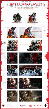 Metal Gear Solid V: The Phantom Pain - Icon-Pack