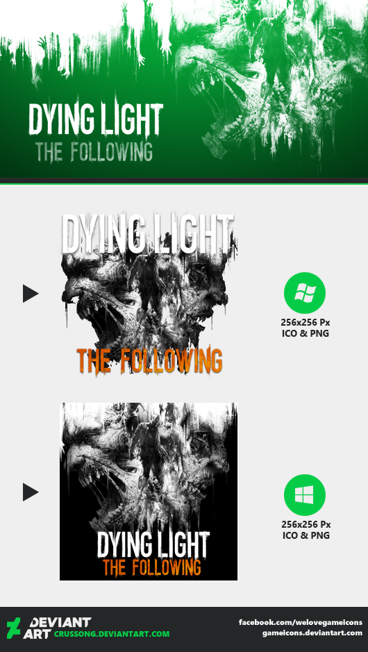 Dying Light: The Following - Icon by Crussong on DeviantArt