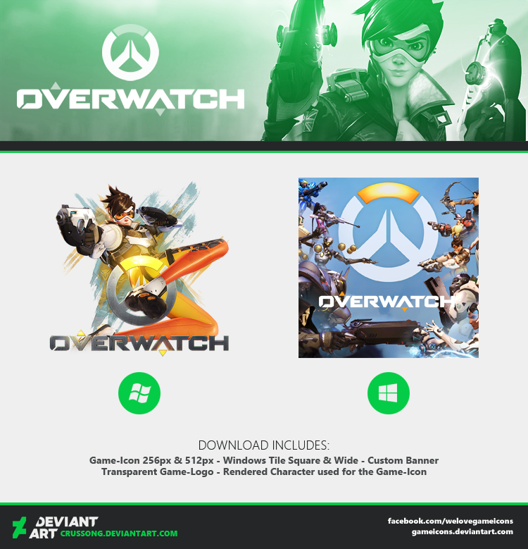 Overwatch Icon Media By Crussong On Deviantart