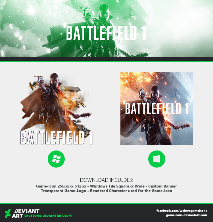 Battlefield 1 - Icon + Media by Crussong on DeviantArt