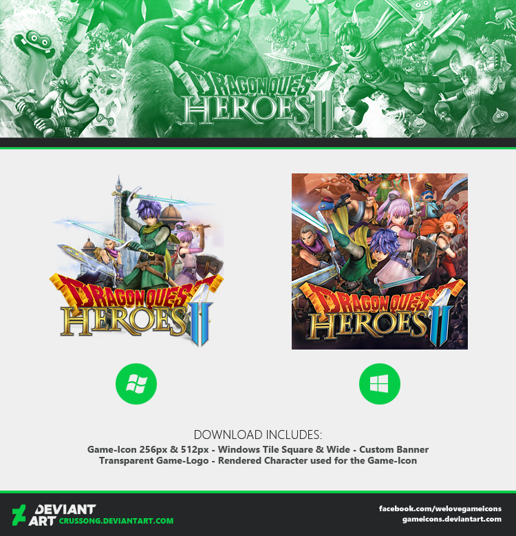 Dragon Quest Heroes II - Icon + Media by Crussong on DeviantArt