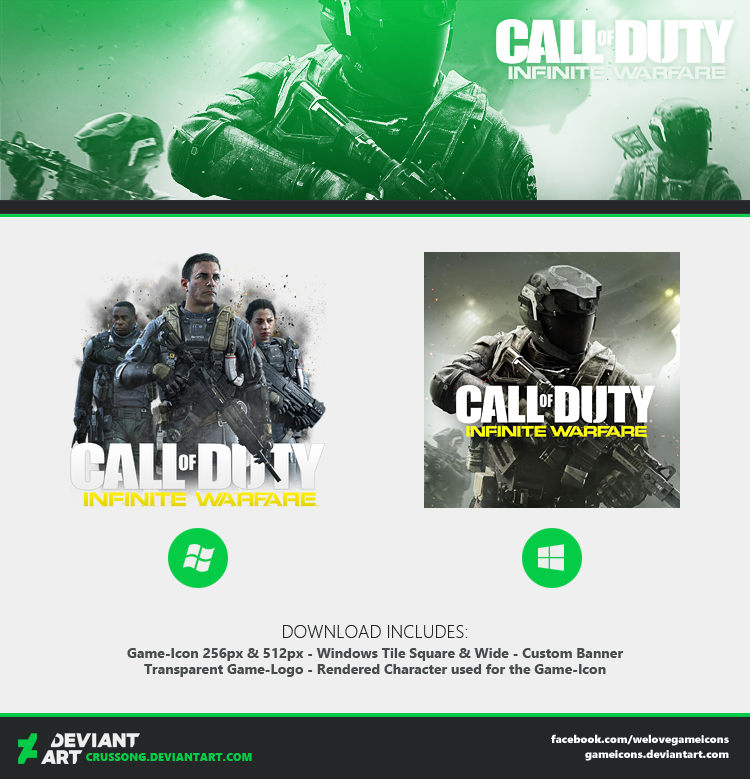 Call of Duty: Infinite Warfare - Icon 2 + Media by Crussong