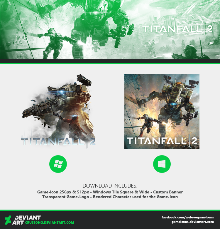 Titanfall 2 - Icon + Media by Crussong