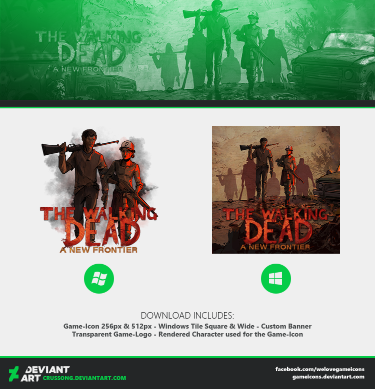 The Walking Dead Game Icons The Walking Dead
