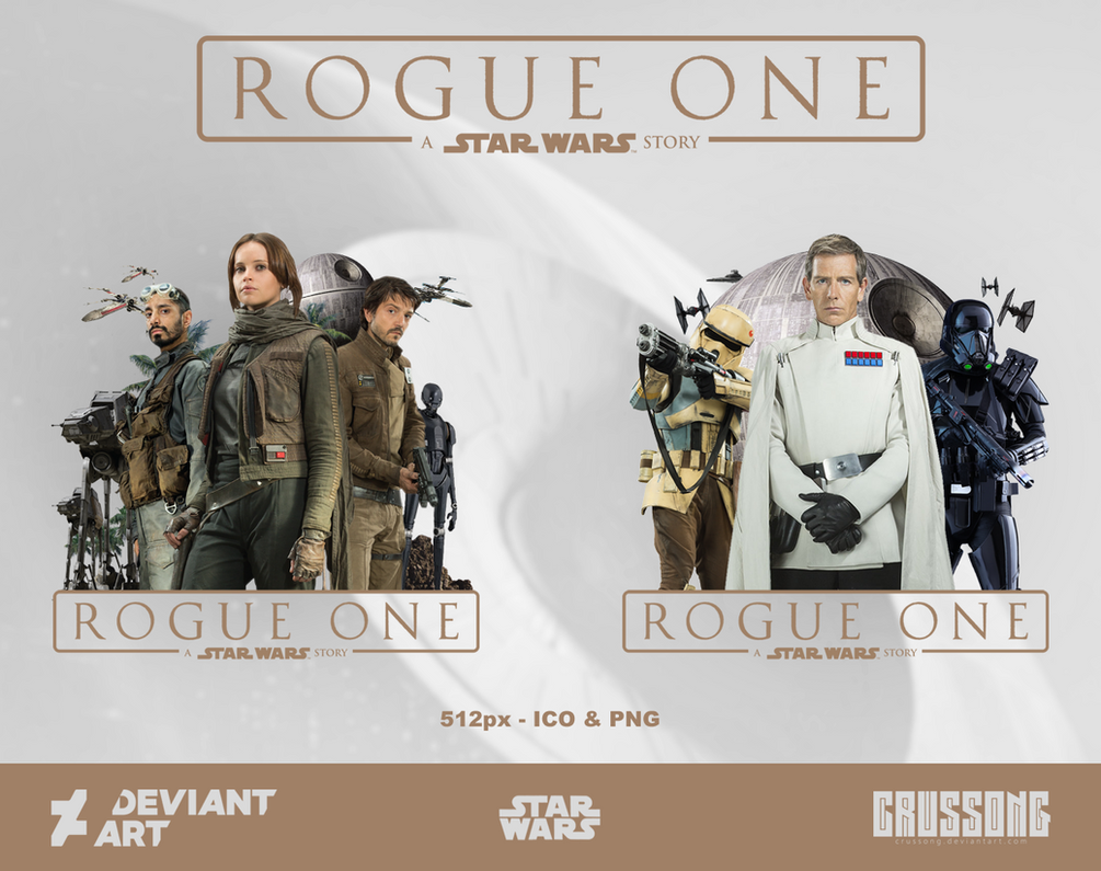 Star Wars: Rouge One - Icon Pack by Crussong