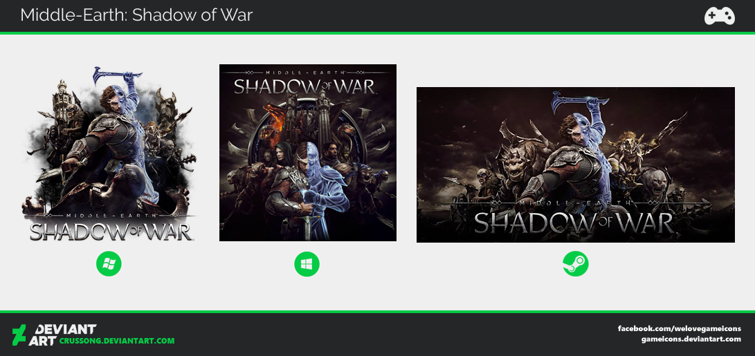 Middle-Earth: Shadow of War - Icon by Crussong