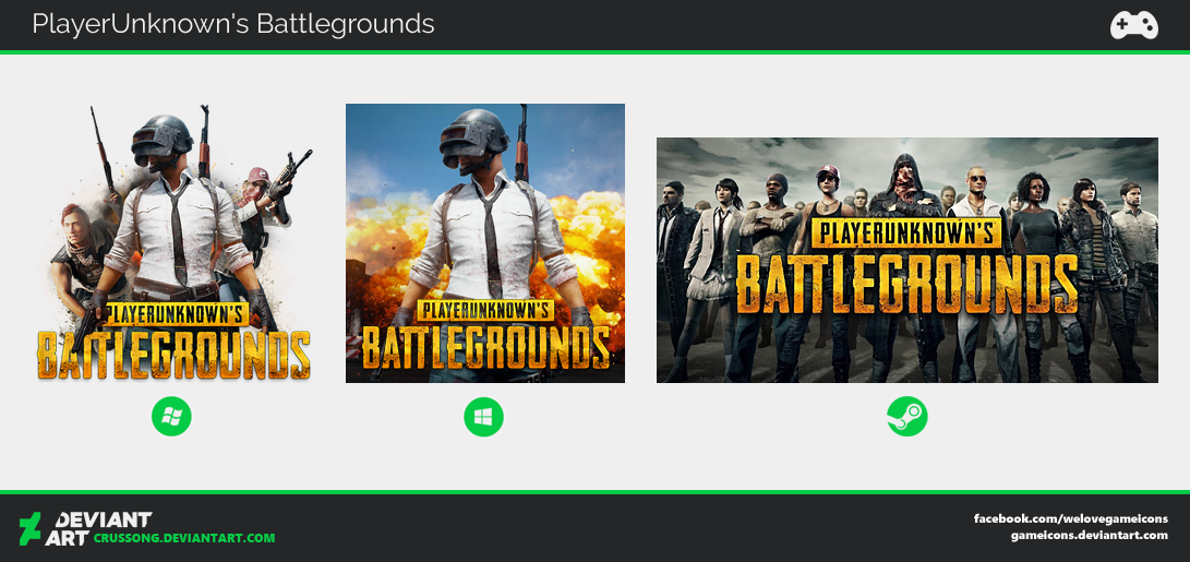 Playerunknown's Battlegrounds - Icon by Crussong
