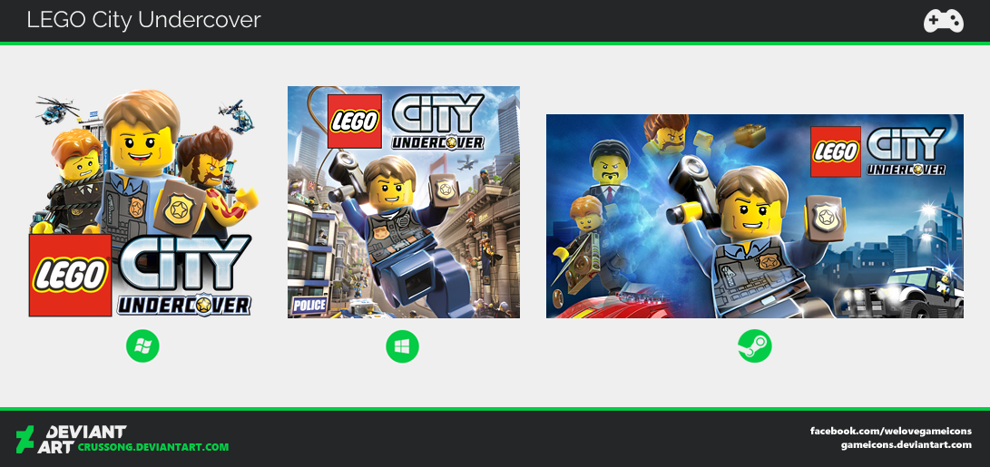 LEGO City Undercover - Icon by Crussong on DeviantArt