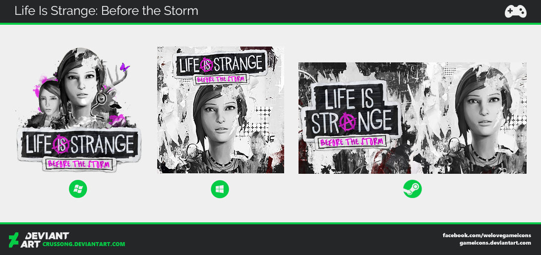 Life is Strange: Before the Storm - Icon by Crussong