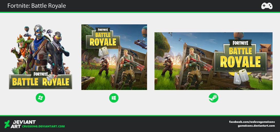Fortnite: Battle Royale - Icon by Crussong
