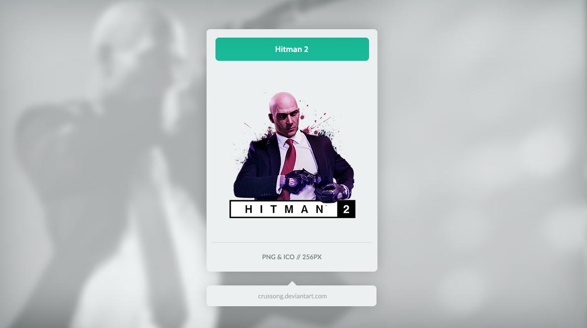 icon hitman 2 logo