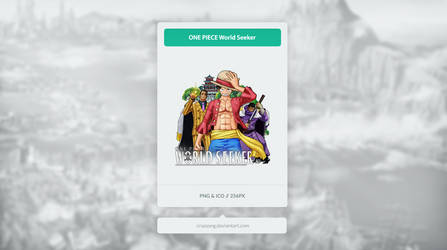 ONE PIECE World Seeker - Icon by Crussong