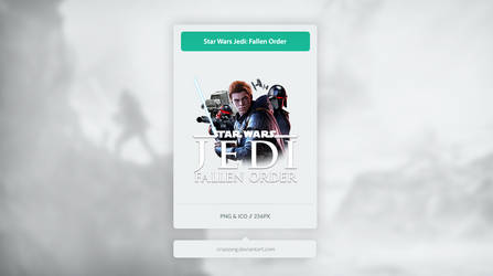 Star Wars - Jedi: Fallen Order - Icon by Crussong