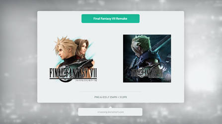 Final Fantasy VII Remake - Icon by Crussong
