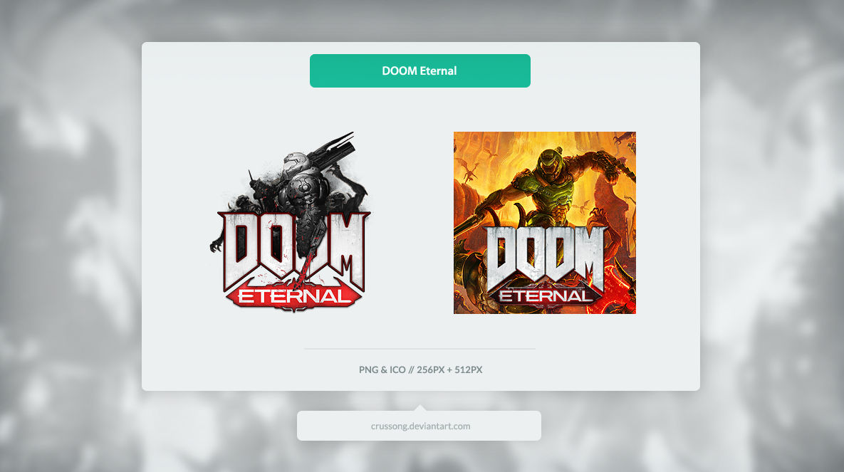 Doom Eternal Icon By Crussong On Deviantart