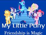 My Little Pony Disney Style logo by lamonttroop