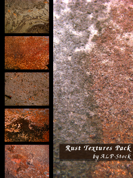 Rust Textures Pack