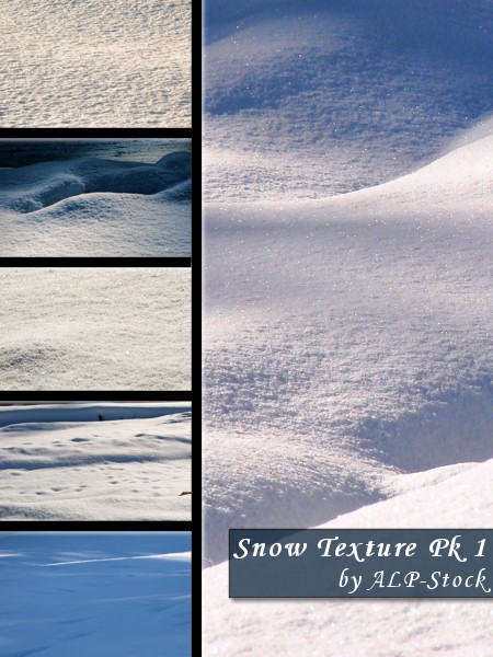 Snow Texture Pk1 by ALP-Stock