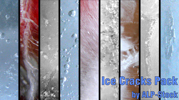 Ice Cracks Pack by ALP-Stock