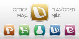 Office:Mac Flavored Milk Icons