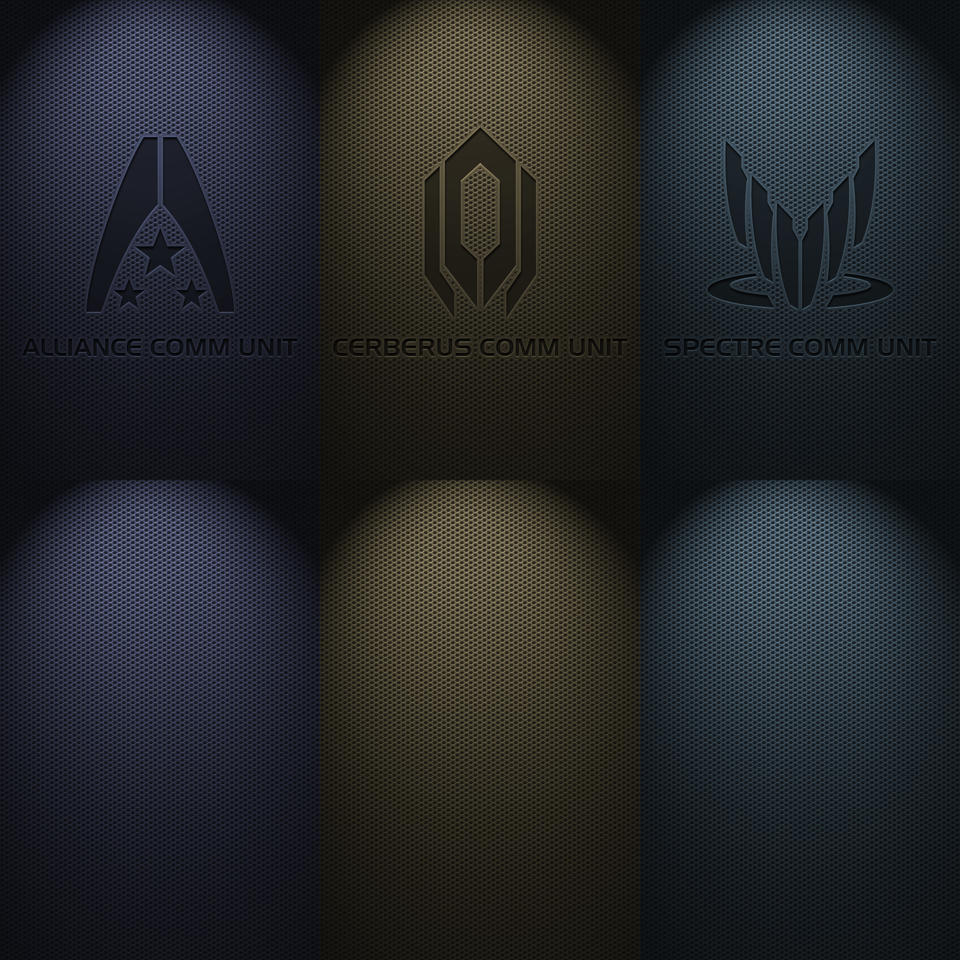 Mass Effect Comms IPhone Wallpaper Pack By InterestingJohn