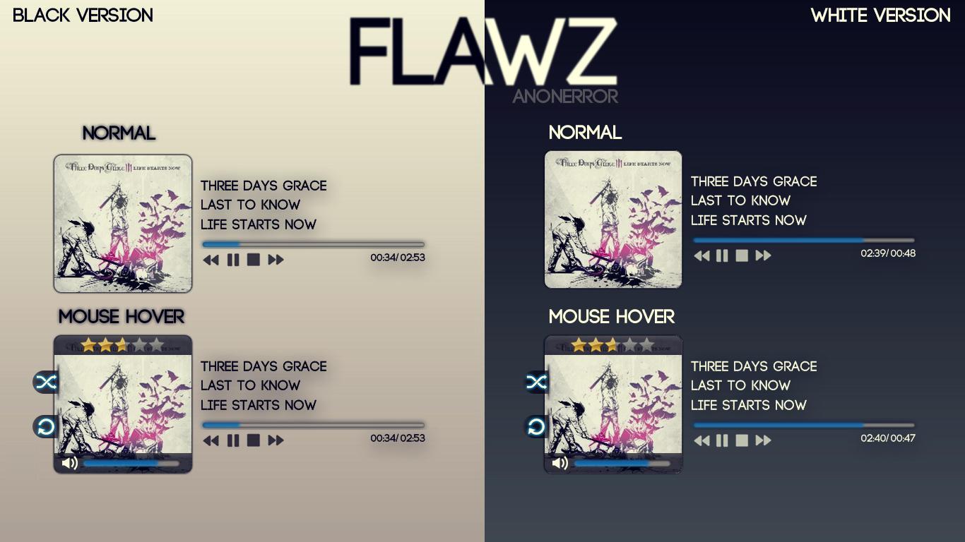 Flawz Player for XWidget by ErroRxXx