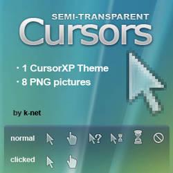 Semi-transparent Cursors
