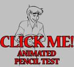 Thomas Sanders Pencil Test